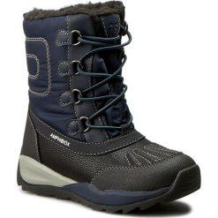 Buty zimowe chłopięce: Śniegowce GEOX – J Orizont B. B Abx D J540BD 0FU50 C4002 Morski