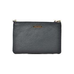 Torebka w kolorze czarnym - (S)27,5 x (W)18 cm. Czarne torebki klasyczne damskie Bestsellers bags, w paski, z materiału. W wyprzedaży za 149,95 zł.