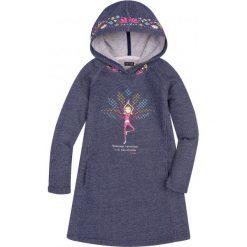 Bluzy dziewczęce: Sukienka o charakterze bluzy z kapturem dla dziewczynki 9-13 lat