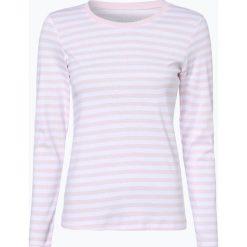 T-shirty damskie: brookshire – Damska koszulka z długim rękawem, różowy