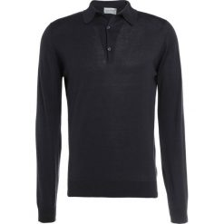 John Smedley BRADWELL Sweter flannel grey. Szare swetry klasyczne męskie John Smedley, m, z bawełny. W wyprzedaży za 450,45 zł.