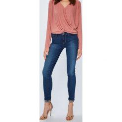 Levi's - Jeansy 710. Brązowe rurki damskie marki Levi's®, z bawełny. Za 299,90 zł.
