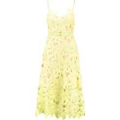 Sukienki hiszpanki: Love Triangle SUNSHINE ON MY MIND DRESS Sukienka letnia lemon