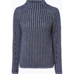 Marc O'Polo - Sweter damski z dodatkiem alpaki, niebieski. Niebieskie swetry klasyczne damskie Marc O'Polo, m, z dzianiny, polo. Za 619,95 zł.