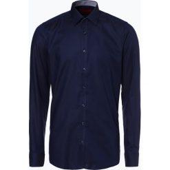 Finshley & Harding - Koszula męska łatwa w prasowaniu, niebieski. Czarne koszule męskie non-iron marki Finshley & Harding, w kratkę. Za 179,95 zł.
