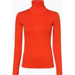 Marc Cain Sports - Damska koszulka z długim rękawem, pomarańczowy. Brązowe t-shirty damskie Marc Cain Sports, z golfem. Za 349,95 zł.