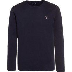 GANT THE ORIGINAL  Bluzka z długim rękawem evening blue. Szare bluzki dziewczęce bawełniane marki GANT. Za 129,00 zł.