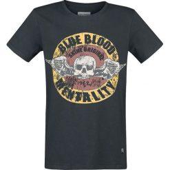 T-shirty męskie z nadrukiem: Shine Original Burton T-Shirt czarny