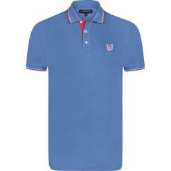 """Koszulki polo: Koszulka polo """"Insert"""" w kolorze błękitnym"""