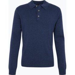 Andrew James - Sweter męski z czystego kaszmiru, niebieski. Niebieskie swetry klasyczne męskie Andrew James, m, z kaszmiru. Za 549,95 zł.
