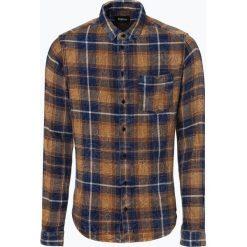 Tigha - Koszula męska, niebieski. Niebieskie koszule męskie jeansowe marki Tigha, l. Za 379,95 zł.