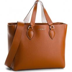 Torebka COCCINELLE - BL5 Jade E1 BL5 18 02 01 Brule/Blanche 605. Brązowe torebki klasyczne damskie marki Coccinelle, ze skóry. W wyprzedaży za 909,00 zł.