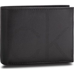 Duży Portfel Męski CALVIN KLEIN - Ck Point 10Cc Coin P K50K503962 001. Czarne portfele męskie marki Calvin Klein, ze skóry. Za 329,00 zł.