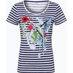 Odzież damska: Marc Cain Sports – T-shirt damski, niebieski