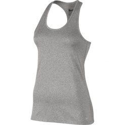 Nike Koszulka damska Dry Tank Balance szara r. S (648567-063). Czarne topy sportowe damskie marki Nike, xs, z bawełny. Za 62,00 zł.
