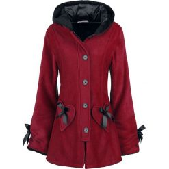 Poizen Industries Alison Coat Płaszcz damski czerwony. Szare płaszcze damskie z futerkiem marki bonprix. Za 446,90 zł.