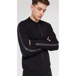 Bluzy męskie: Bluza męska BLM208 – głęboka czerń