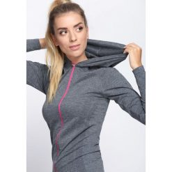Szaro-Różowa Bluza Dresowa Be Stronger. Czerwone bluzy rozpinane damskie Born2be, l, z dresówki. Za 59,99 zł.