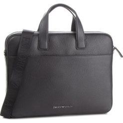Torba na laptopa EMPORIO ARMANI - Y4P105 YDS4J 81072 Black. Czarne torby na laptopa marki Emporio Armani, ze skóry. Za 1589,00 zł.