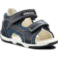 Sandały GEOX - B S.Tapuz B. C B820XC 08522 C0700 M Navy/Avio. Niebieskie sandały męskie skórzane Geox. W wyprzedaży za 189,00 zł.