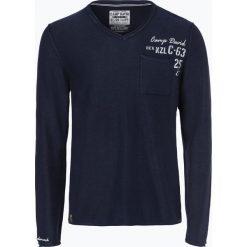 Camp David - Sweter męski, niebieski. Niebieskie swetry klasyczne męskie Camp David, m, ze splotem. Za 299,95 zł.