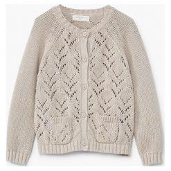 Swetry dziewczęce: Mango Kids - Sweter dziecięcy Becky 62-80 cm