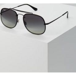RayBan Okulary przeciwsłoneczne black. Szare okulary przeciwsłoneczne męskie wayfarery marki Ray-Ban, z materiału. Za 719,00 zł.