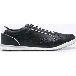 Levi's - Buty. Brązowe buty skate męskie marki Levi's®, z gumy, na sznurówki. W wyprzedaży za 219,90 zł.