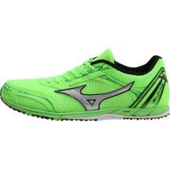 Buty sportowe męskie: Mizuno WAVE EKIDEN 11 Obuwie do biegania startowe green geck/silver/bright green