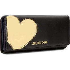 Portfele damskie: Duży Portfel Damski LOVE MOSCHINO - JC5514PP14LD200B  Nero/Oro