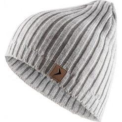 Czapka męska CAM604 - chłodny jasny szary melanż - Outhorn. Szare czapki zimowe męskie Outhorn. Za 24,99 zł.