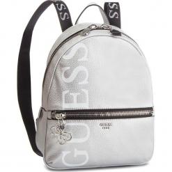 Plecak GUESS - HWML71 84330 SILVER. Szare plecaki damskie Guess, z aplikacjami, ze skóry ekologicznej, klasyczne. Za 599,00 zł.