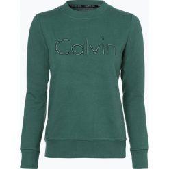 Bluzy damskie: Calvin Klein Jeans - Damska bluza nierozpinana, zielony