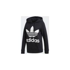 Bluza Adidas Trefoil Hoodie. Szare bluzy sportowe damskie marki Adidas, l, z dresówki, na jogę i pilates. Za 250,00 zł.