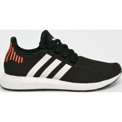 Adidas Originals - Buty Swift Run. Brązowe buty sportowe damskie marki adidas Originals, z bawełny. W wyprzedaży za 299,90 zł.