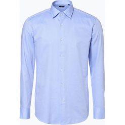 Koszule męskie na spinki: BOSS - Koszula męska – Jenno, niebieski