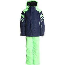 CMP BOY SET JACKET+PANT SET Kurtka snowboardowa navy. Niebieskie kurtki chłopięce sportowe marki bonprix, z kapturem. W wyprzedaży za 335,20 zł.