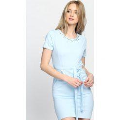Niebieska Sukienka Stand Still. Niebieskie sukienki letnie Born2be, s, mini. Za 64,99 zł.
