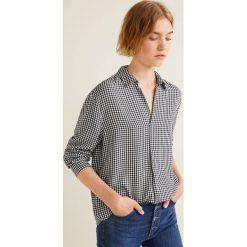 Mango - Bluzka Copito. Szare bluzki z odkrytymi ramionami Mango, l, z tkaniny, casualowe. Za 119,90 zł.