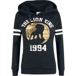 The Lion King 1994 Bluza z kapturem damska czarny. Czarne bluzy z kapturem damskie marki The Lion King, m, z nadrukiem. Za 184,90 zł.