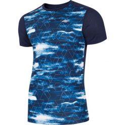 T-shirty męskie: Koszulka treningowa męska TSMF221 – multikolor