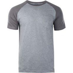 AQUAWAVE Koszulka męska BAMA light grey melange/grey r. L. Szare koszulki sportowe męskie AQUAWAVE, l. Za 47,12 zł.