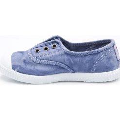 Big Star - Tenisówki dziecięce. Niebieskie buty sportowe dziewczęce marki BIG STAR, z materiału. W wyprzedaży za 69,90 zł.