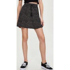 Spódniczki: Wzorzysta spódnica – Biały