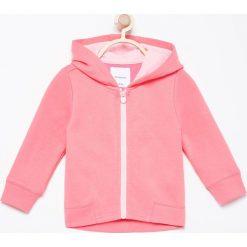 Bluza z kapturem - Różowy. Czerwone bluzy niemowlęce marki Reserved, z kapturem. Za 24,99 zł.