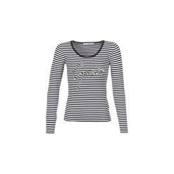 Swetry Guess  CLARA. Niebieskie swetry klasyczne damskie marki Guess, z materiału. Za 309,00 zł.