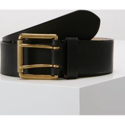 Polo Ralph Lauren Pasek black. Czarne paski męskie Polo Ralph Lauren, w paski, z materiału. Za 549,00 zł.