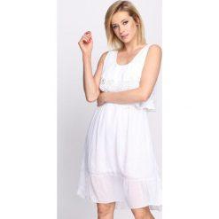 Sukienki: Biała Sukienka Pure Imagination
