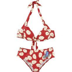 Lilo & Stitch Ohana Bikini czerwony/biały. Czerwone bikini marki DOMYOS, z elastanu. Za 164,90 zł.