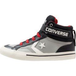Converse PRO BLAZE STRAP HI LEATHER Tenisówki i Trampki wysokie drizzle grey/white/black. Szare trampki dziewczęce Converse, z materiału. W wyprzedaży za 239,20 zł.
